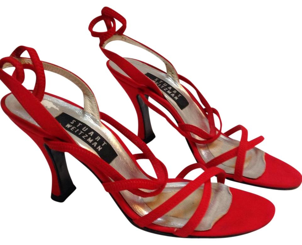 9b15db8d209 Red Strappy Sandals