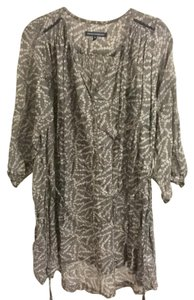 French Connection short dress Gray Shift Loose on Tradesy
