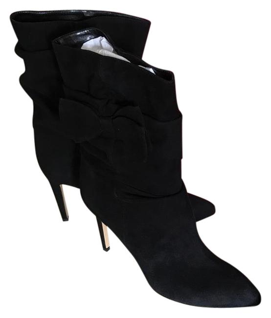 Item - Black Black/Suede with Ribbon. Boots/Booties Size US 8.5 Regular (M, B)