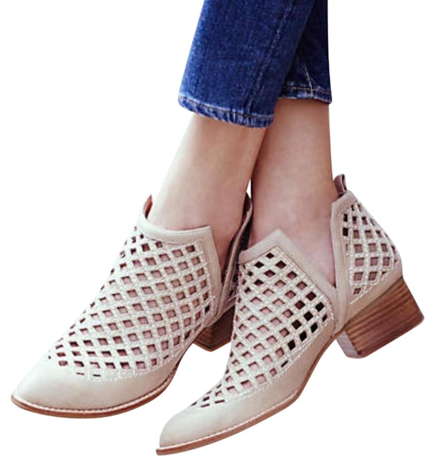 jeffrey campbell taggart tan boots on sale 25 off boots booties on sale. Black Bedroom Furniture Sets. Home Design Ideas