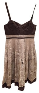 Tocca short dress Brown Summer Day on Tradesy