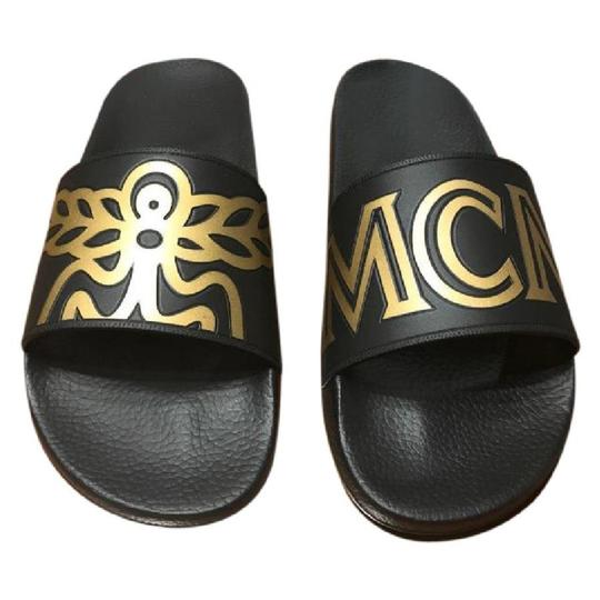 Preload https://img-static.tradesy.com/item/22082326/mcm-black-slippers-sandals-size-us-10-regular-m-b-0-0-540-540.jpg