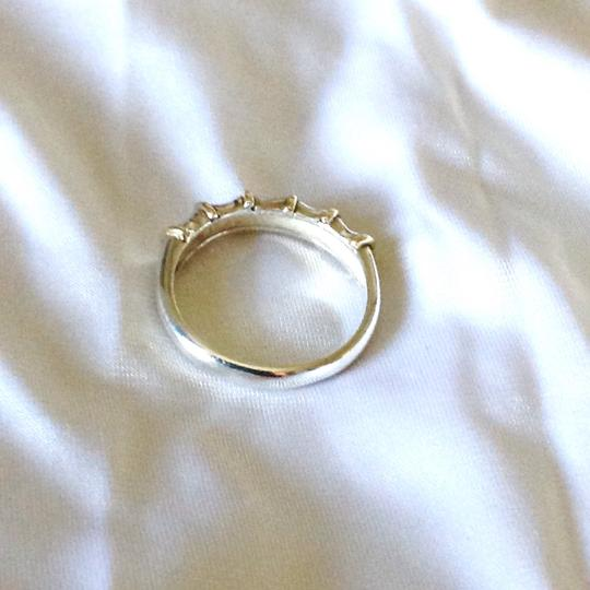 Sterling Silver And 14K Gold Band Ring Band Ring Sterling Silver and 14K Gold