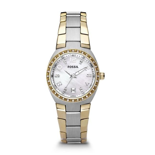 Item - Silver and Gold Colleague Watch