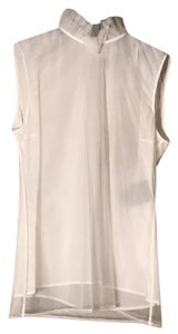 Burberry Top Natural White