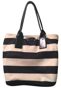 Kate spade black and white Beach Bag