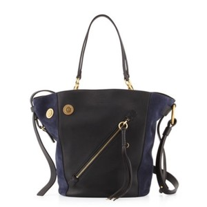 Chlo Tote in NAVY & BLACK