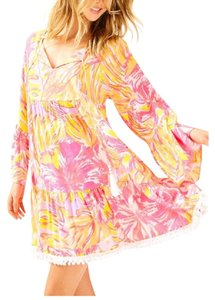 Lilly Pulitzer short dress multi wave on Tradesy