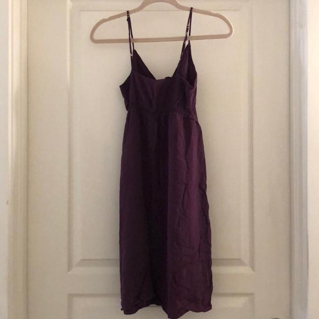 Twelfth St. by Cynthia Vincent Slip Silk Midi Sleeveless A-line Dress