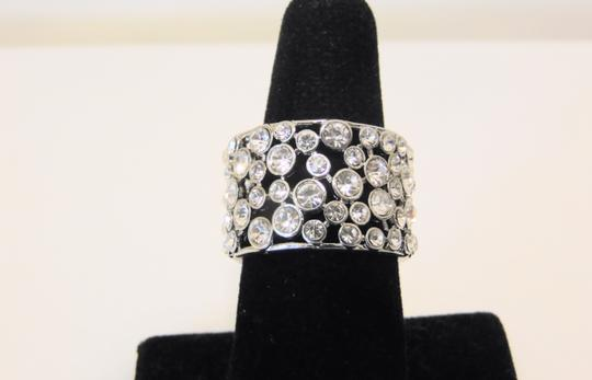Real Collectibles by Adrienne Real Collectibles by Adrienne Crystal Wedding Band Ring 9