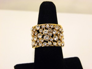 Real Collectibles by Adrienne Real Collectibles by Adrienne Crystal Wedding Band 9