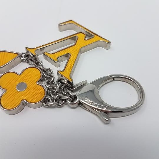 Louis Vuitton Yellow Epi leather Louis Vuitton Fleur d'Epi bag charm
