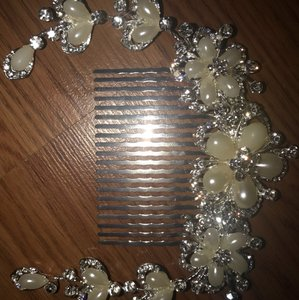 Crystal Silver New Hair Accessory