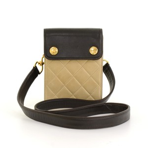 Chanel Leather Mini 2way Shoulder Bag