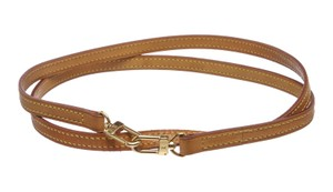 Louis Vuitton Louis Vuitton Tan Vachetta Leather Strap