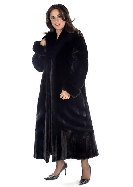 Preload https://img-static.tradesy.com/item/22084211/black-ranch-mink-fur-designer-size-18-xl-plus-0x-0-1-650-650.jpg