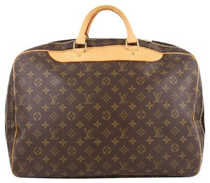 Louis Vuitton Travel Canvas Brown Travel Bag