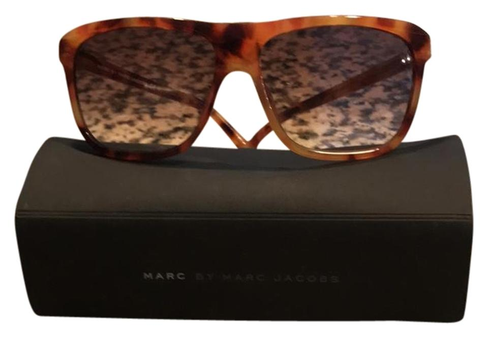 d8d072596a3 Marc by Marc Jacobs Light Brown  Brown Sunglasses - Tradesy