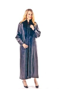 madisonavemall Real Fox Real Leather Womens Fox Womens Leather Fox Trimmmed Coat