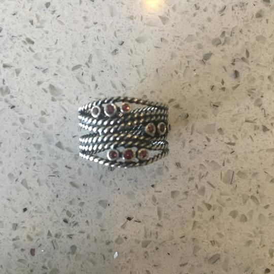 PANDORA Sterling Silver Woven ring