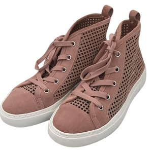 1.STATE High Top Sneakers Lace Up Blush Athletic