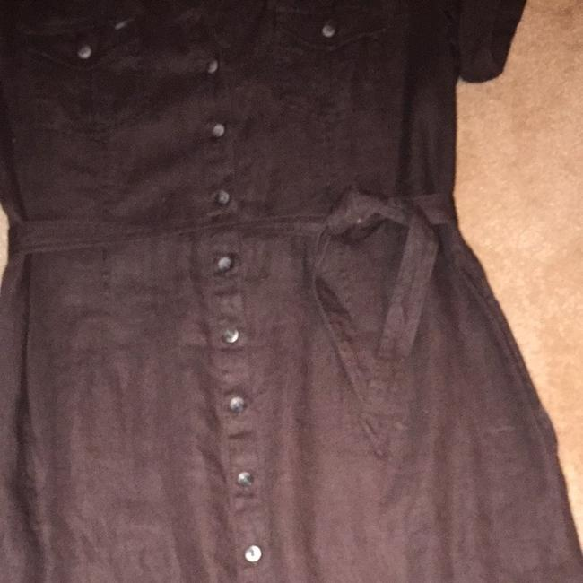 Forth & Towne short dress Brown. on Tradesy