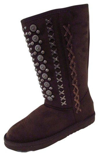 Preload https://img-static.tradesy.com/item/22085149/montana-west-coffee-faux-suede-studded-bootsbooties-size-us-7-regular-m-b-0-1-540-540.jpg