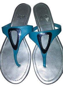 Impo Turquoise/Silver Sandals