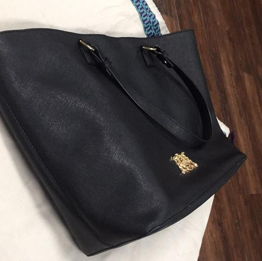 Juicy Couture Tote in Black and Gold