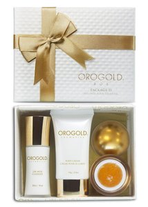 OROGOLD Cosmetics OROGOLD Cosmetics 24K Gold Luxury Package 2 Skin Care Set for Men and