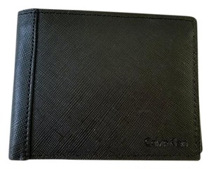 Calvin Klein NEW BOXED Calvin Klein Men's CK saffiano leather wallet with Box