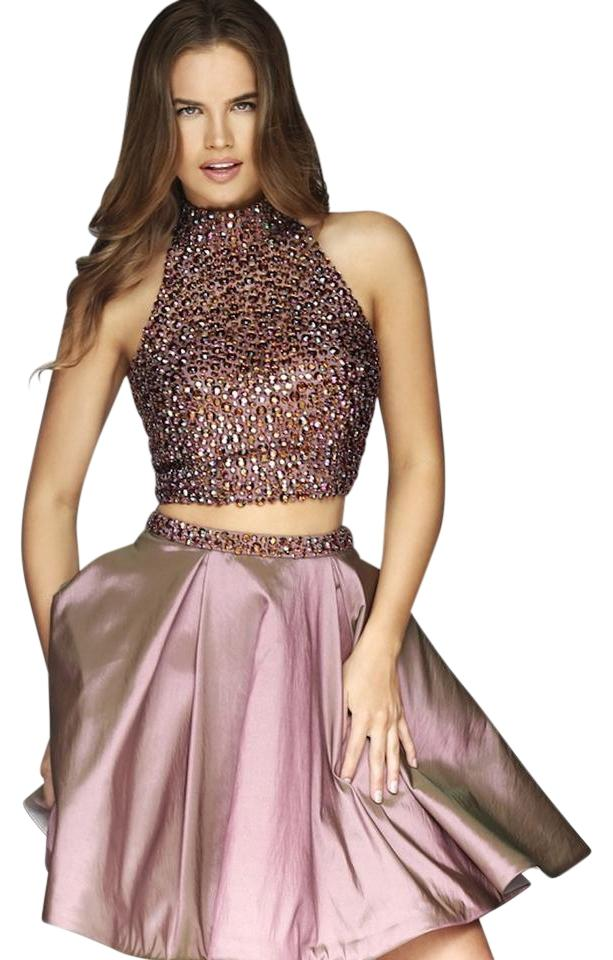 Sherri Hill Mauve Spring Collection Style Number 11317 Short Formal