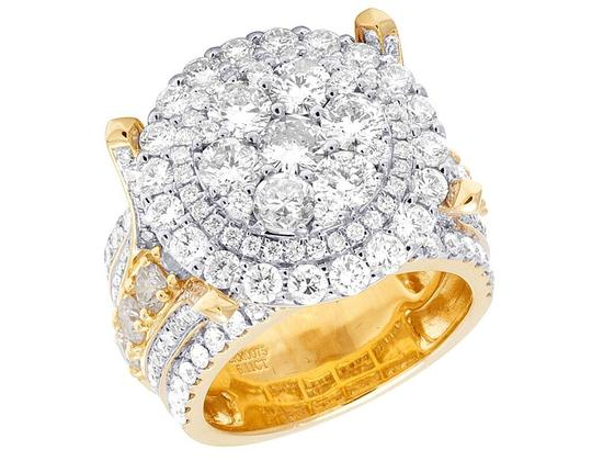 Preload https://img-static.tradesy.com/item/22086241/jewelry-unlimited-10k-yellow-gold-men-s-diamond-cluster-pinky-611-ct-19mm-ring-0-0-540-540.jpg