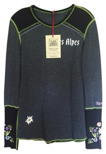 Alp-n-Rock Quality Fitted Apres-ski Lifestyle Long Sleeve T Shirt