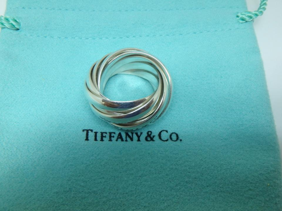 b01ac59dc Tiffany & Co. Paloma Picasso Melody sterling silver 6 band ring Image 7.  12345678