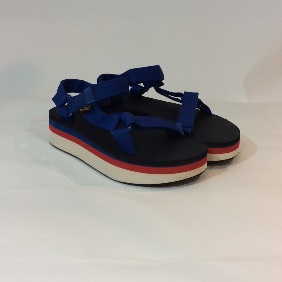 bf9223f016a Teva True Blue Flatform Universal Retro Sandals Size US 8 Regular (M ...