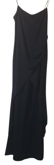 Item - Black Dress with Chiffon Overlay and Spaghetti Straps. Very Flattering and Comfortable. Perfect For A Of W W/ Strapping Pant Suit Size 6 (S)