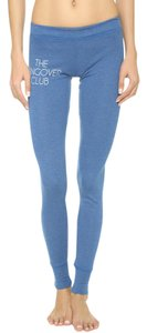 Wildfox Hangover Club Pants Sweatpants Blue Leggings