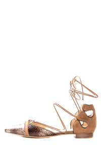 Alexandre Birman Tan & Brown Flats