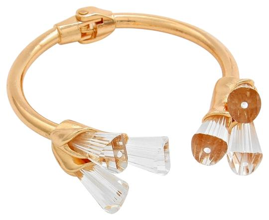 Preload https://item3.tradesy.com/images/gold-clear-stone-petal-cuff-bracelet-2208812-0-0.jpg?width=440&height=440