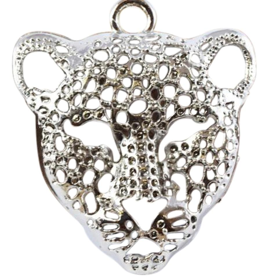 Silver plated lioness pendant charm tradesy lbds silver plated lioness pendant charm aloadofball Choice Image