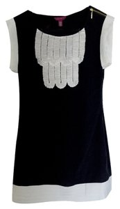 Ted Baker short dress Black / Creme trim Mini on Tradesy