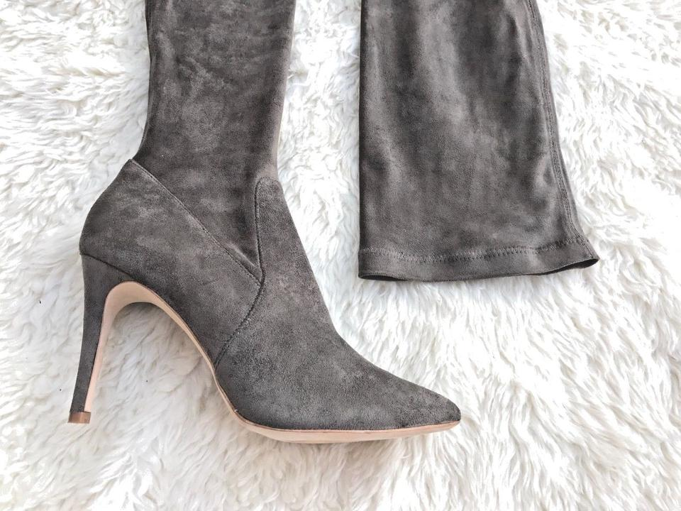 b5407d43806 Joie Graphite Gray  jemina  Suede Otk Over The Knee Stretch Boots ...