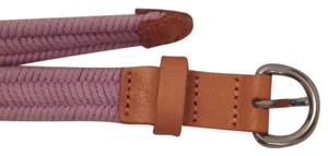 Gap gap braided lavender belt with tan accents