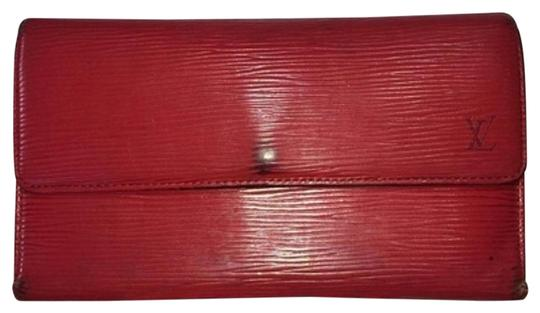 Preload https://item1.tradesy.com/images/louis-vuitton-sold-1418-lm-rep-louis-vuitton-epi-leather-red-wallet-lvtl20-2208900-0-2.jpg?width=440&height=440