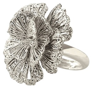 Stella & Dot Geneve Lace Ring - Silver