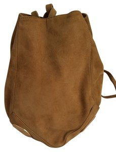 Paloma Picasso Suede Bucket Shoulder Bag