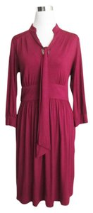 Trina Turk Bowtie Jersey Knit Fall Dress