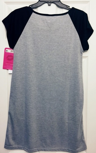 Other T Shirt Heather Grey and Black