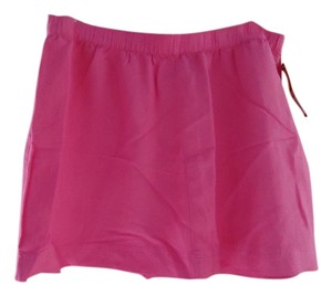 Merona Nwt New Linen Summer Mini Skirt Hot Pink